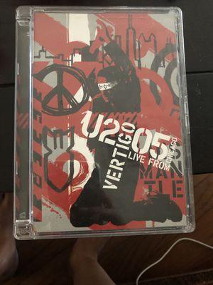U2 vertigo dvd 2005 for Sale in Redlands, CA