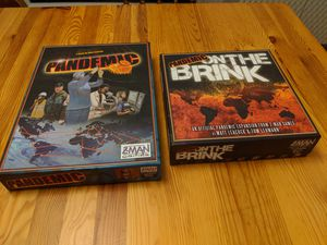 Board game: Pandemic + expansion for Sale in Woodside, CA