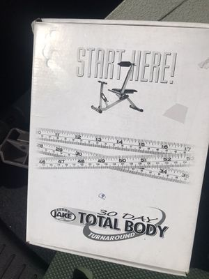 1/3 BODY BY JAKE TOTAL BODY TRAINER EXERCISE MACHINE for Sale in Sunrise, FL