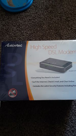 High speed DSL modem brand new unopened for Sale in Fresno, CA