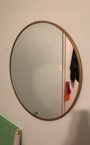 Gold plated mirror for Sale in Washington, DC