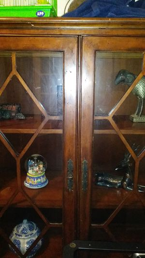 Antique china cabnet for Sale in Dallas, TX
