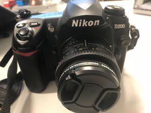 Nikon D200 Bundle, includes 3 Lenses & Accessories for Sale in San Diego, CA