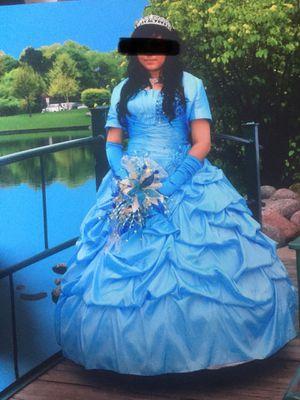 Quinceanera dress vestido for Sale in Chicago, IL