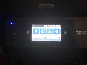 Epson touchscreen printer all in one for Sale in Cleveland, OH