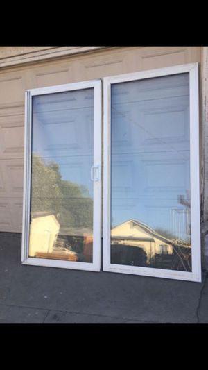 Sliding doors/puertas corredizas for Sale in La Puente, CA
