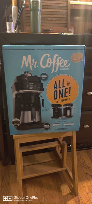 Mr coffee all in one $140 for Sale in Chicago, IL