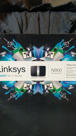 Linksys smart Wi-Fi N900 Router for Sale in Denver, CO