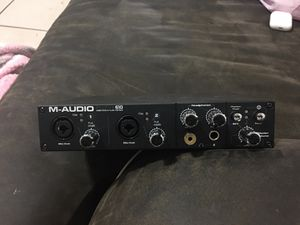 M Audio Pro Fire 610 Audio Interface for Sale in Fort Lauderdale, FL