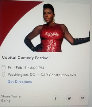 Capitol Comedy Festival--Orchestra Floor Seats!!! for Sale in Washington, DC