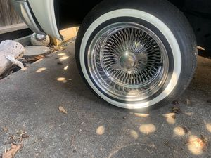 13's spokes w/new tires for Sale in San Leandro, CA