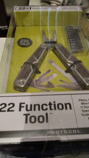 Brand new (never used) 22 function tool kit set 12 tools in one in great shape and condition just need gone please its (urgent) for Sale in Pinellas Park, FL