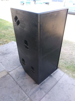 Dual 18 inch yorkville tx9s concert subwoofer for Sale in Las Vegas, NV