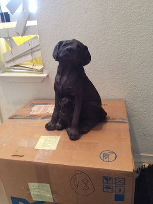 Statue of dog and puppy for Sale in Antioch, CA