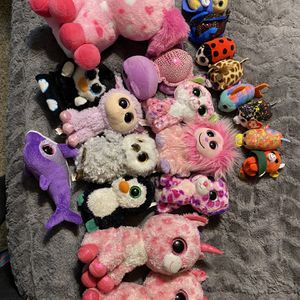20 Ty Sparkle Eye Beanie Baby Lot for Sale in Canby, OR