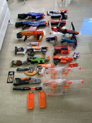 Nerf Gun Collection for Sale in US