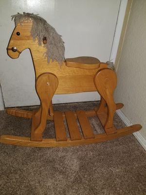 Wooden rocking horse for Sale in Edmonds, WA