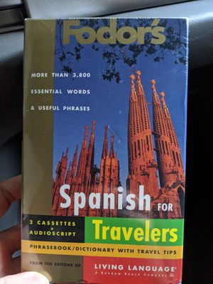 Fodor's Spanish for Travellers Audio + Print $8 OBO / Trade for Sale in Portland, OR