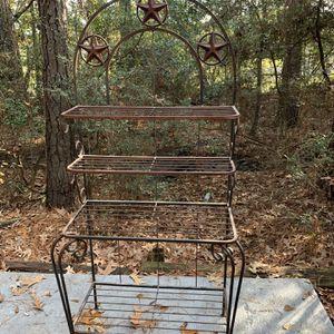 Rustic Bakers Rack for Sale in Spring, TX