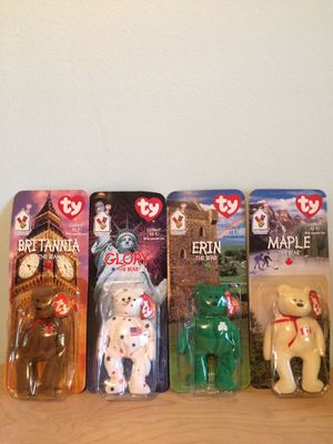 Ty Beanie Babies set 4/4 collection for Sale in Orlando, FL