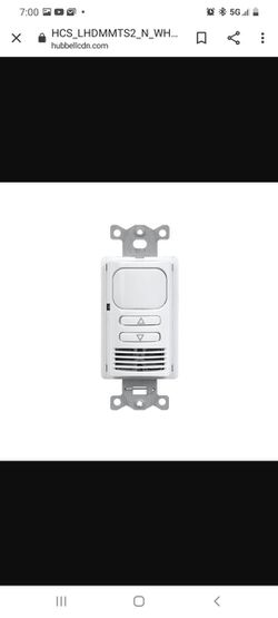 Lighthawk Dimming Dual Wall Switch Sensor for Sale in Sayreville, NJ