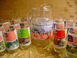 Collectible Coca Cola pitcher and glasses for Sale in Seattle, WA