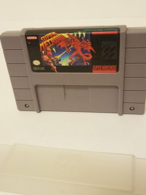 Super metroid authentic and in like new conditions for Sale in Cypress, TX