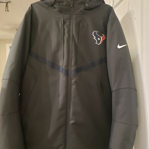Nike Houston Texans Jacket (Storm Fit - On Field retail $400). Asking $100 for Sale in Stafford, TX