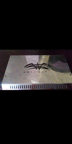 Wet Sound Syn4 4 ch High end Audiophile quality class g/h power amplifier 800 watt RMS The chassis is based off of Arc Audio's KS series amplifiers for Sale in Round Rock, TX