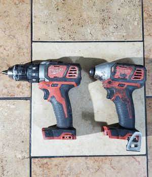 Milwaukee M18 18-Volt Lithium-Ion Cordless Drill Driver/Impact Driver for Sale in Phoenix, AZ
