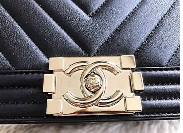 $2900 Chanel Chevron boy bag AUTHENTIC!! SERIOUS BUYERS ONLY!
