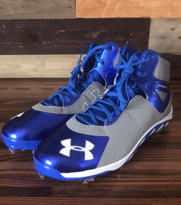 Men S 13 Under Armour Spine Heater Mid St Baseball Cleats