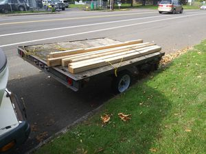 5x8 flatbed trailer for Sale in Portland, OR