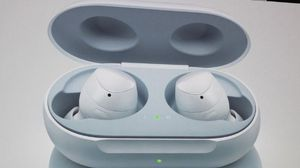 Samsung White Galaxy Buds open box for Sale in McLean, VA