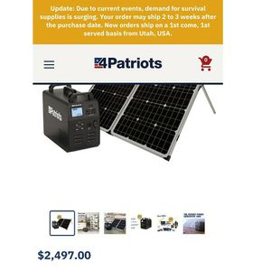 Patriot Generator for Sale in Long Beach, CA