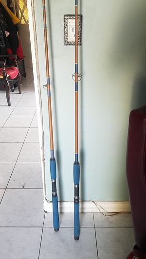 Two Sabre vintage fishing rods poles for Sale in Gardena, CA