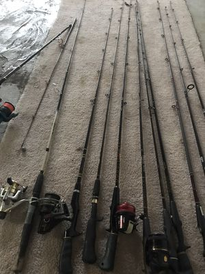 Fishing rods for Sale in Pittsburgh, PA
