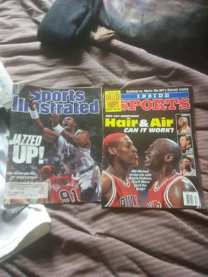 Jordan Magazines 8.00 for both or 5.00 each for Sale in Kingsport, TN