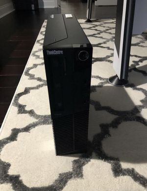 Dual Monitor setup!!! VERY FAST Lenovo ThinkCentre M92p Desktop Core i7 Up to 3.9GHz 8GB 128GB SSD HD Windows 10 Pro for Sale in Cumming, GA