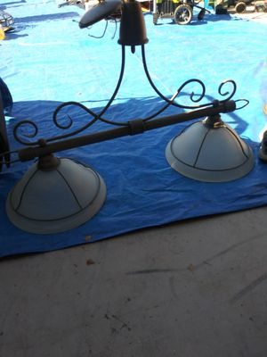 2 light fixture for Sale in Victorville, CA