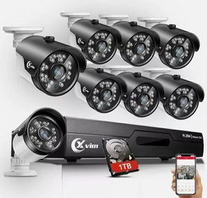 XVIM 8CH 1080P HDMI Outdoor CCTV Surveillance Security Camera System 1TB for Sale in Clearwater, FL