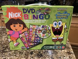 Nickelodeon DVD BINGO game for Sale in Gilbert, AZ
