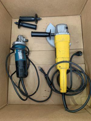 dewalt makita grinder power tools for Sale in Houston, TX