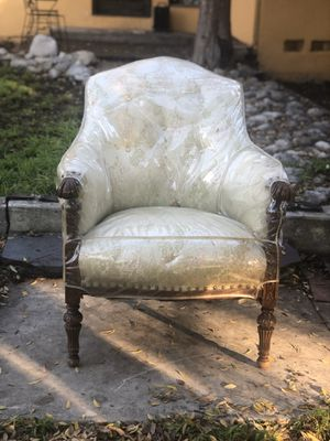 Antique Upholstered Chair for Sale in Pomona, CA