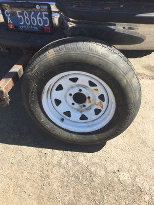 Trailer wheel tire for Sale in Milwaukie, OR