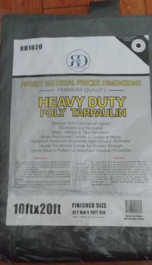 10x20ft. Heavy duty industrial grey tarp new 🆕 $25.00 for Sale in Los Angeles, CA