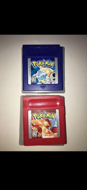 ORIGINAL Pokemon games, in great condition! for Sale in Turlock, CA