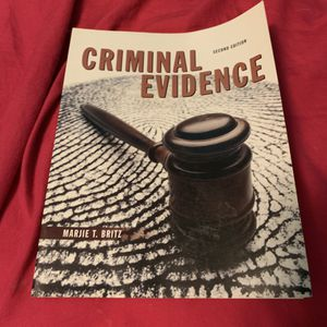 Criminal Evidence 2nd Edition for Sale in Columbia, MO