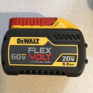 DEWALT FLEXVOLT 20-Volt/60-Volt MAX Lithium-Ion Battery Pack 9.0 for Sale in Fort Lauderdale, FL