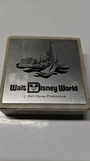 Walt Disney World Paper Weight for Sale in Riverton, NJ
